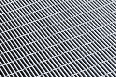 Gray metal grid, abstract background pattern Royalty Free Stock Images