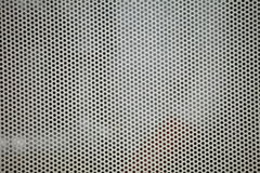 Gray metal grid industrial background Stock Image