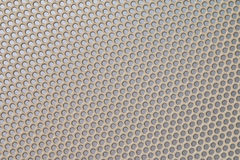 Gray metal grid wicker texture Stock Image