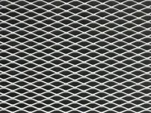 Gray Metal Grill Background royalty-vrije stock afbeeldingen