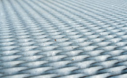 Gray metal mesh surface Stock Photography