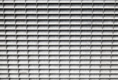 Gray metal panel with lattice grid Stock Images