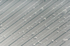 Gray metal surface Stock Photos
