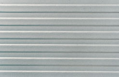 Gray metal surface with lines. (as a background Royalty Free Stock Photos