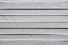 Gray metal surface with regular line Stock Images
