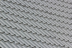 Gray metal tile Royalty Free Stock Image
