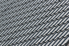 Gray metal tile Royalty Free Stock Photo