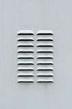 Gray Metal Ventilation Louver Stock Images