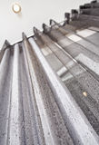 Gray metallic Curtain Stock Photos