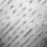 Gray Metallic Grey Foil Diagonal de plata raya el fondo rayado Imagen de archivo