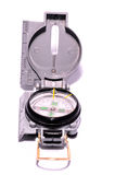 Gray Military Vintage Compass stockbild