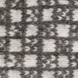 Gray mitten background, grey white textured woolen mittens pattern, knitted warm wool winter fingerless gloves detail, large stock images
