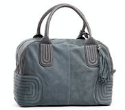Gray modern female bag Stock Photo