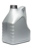 Gray Motor Oil Bottle Royalty Free Stock Image