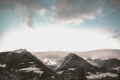 Gray Mountain at Daytime Under Gray Sky Stock Photo