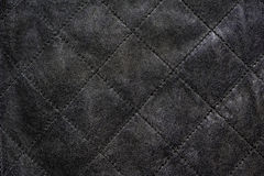 Gray natural leather Stock Photos