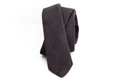 Gray necktie Royalty Free Stock Images