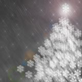 Gray New Year and Christmas Stock Images