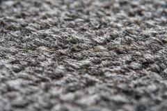 Gray Nylon Carpet Texture. Texture of the Gray Nylon Carpet. Textile Background with Copy Space stock photo