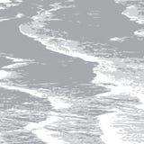 Gray_ocean_tide illustration stock