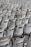 Gray and old chairs Royalty Free Stock Photo