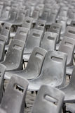 Gray and old chairs Royalty Free Stock Photos