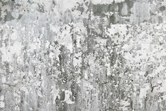 Gray old concrete wall with dirt stains Stock Photography