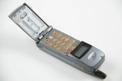 Gray old mobile phones. Stock Photography
