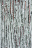 Gray painted peeling wood for background Stock Photography
