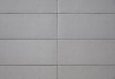Gray panels Stock Photography