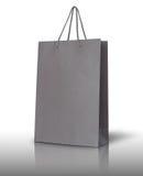 Gray paper bag Stock Photos