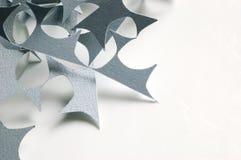 Gray Paper Scraps Imagenes de archivo