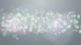 Gray Particles Bokeh Background. stock footage