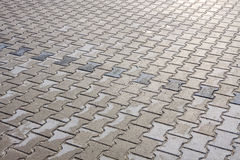 Gray pavement as a background Royalty Free Stock Image