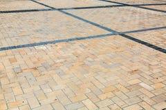 Gray paving slabs close-up. Stock Photo