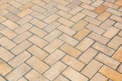 Gray paving slabs close-up. Royalty Free Stock Image