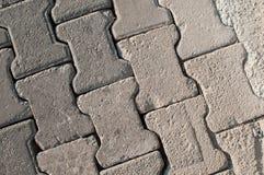Gray Paving Slabs, cobertura de la acera Textura inconsútil de Tileable fotos de archivo
