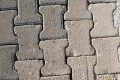 Gray Paving Slabs, couverture de trottoir Texture sans joint de Tileable Images stock