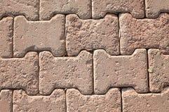 Gray Paving Slabs, couverture de trottoir Texture sans joint de Tileable Photos stock