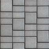 Gray Paving Slabs that Mimic Natural Stone Royalty Free Stock Images