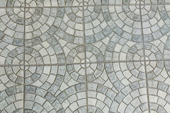 Gray Paving Slabs - Muster des Kreises lizenzfreies stockbild