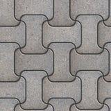Gray Paving Slabs ondulado foto de archivo libre de regalías