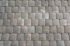 Gray paving slabs Stock Photo