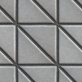 Gray Paving Slabs - triángulos que consisten en cuadrados foto de archivo libre de regalías