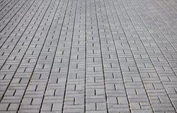 Gray paving stone, closeup Royalty Free Stock Image