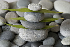 Gray pebble Stock Images