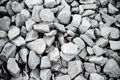Gray pebbles Royalty Free Stock Photos