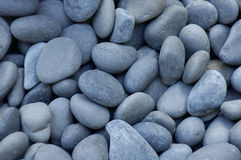 Gray pebbles or stones Royalty Free Stock Photos