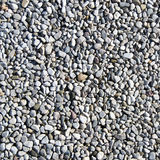 Gray pebbles texture Stock Image