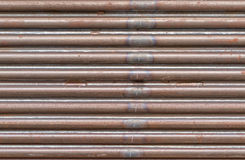 Gray pipes background Stock Images